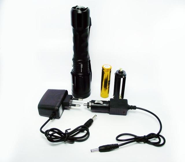 Качественный фонарь Bailong BL-1898-T6. Недорогой фонарь. Фонарь на гарантии. Код: КТМ155 - фото 7