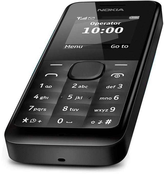 Компактный телефон Nokia 105. FM-радио. Фонарик. Практичный мобильный телефон. Код: КТМТ127 - фото 4