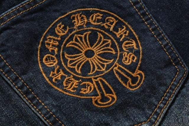 Суперцена! Джинсы СHROME HEARTS. Оригинал USA. Высокое качество. Удобные джинсы. Интернет магазин. Код: КДН992 - фото 9