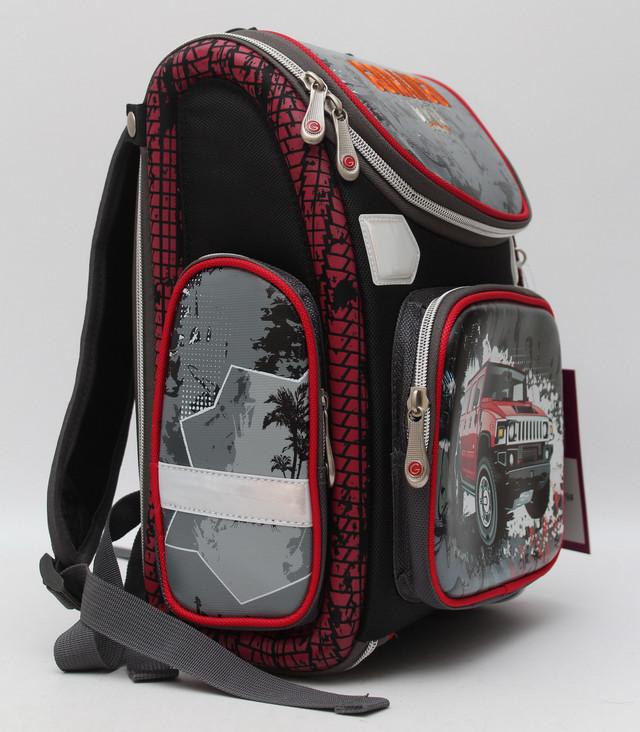 Стильный школьный рюкзак для мальчика. Ортопедический рюкзак. Отличное качество. Низкая цена. Код: КДН347 - фото 3