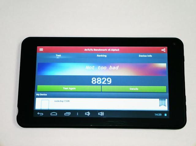 Качественный планшет UKC 733R. Планшет на гарантии. Недорогой планшет с двумя камерами. Код: КТМ210 - фото 3
