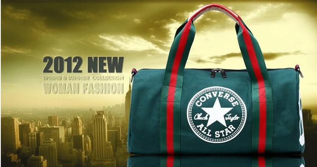 Городская сумка Converse. Спортивная сумка. Дорожная сумка. Мужская сумка. Женская сумка. Холст Код: КСС2 - фото 2