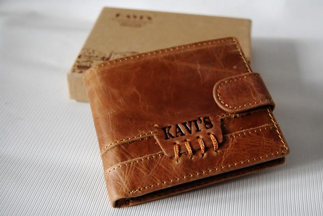 """Мужской кожаный кошелек, портмоне, бумажник KAVI""""S. Кошелек на подарок. Подарок для мужчин. НАТУРАЛЬНАЯ КОЖА! - фото 8"""