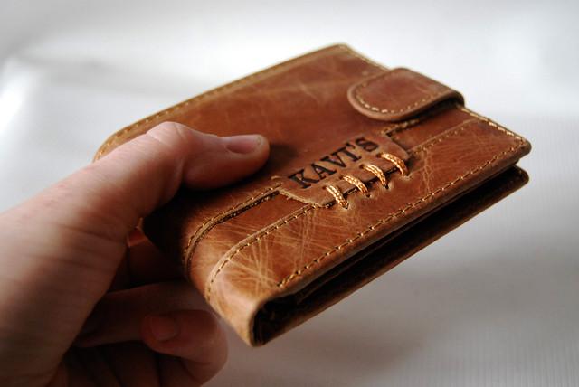 """Мужской кожаный кошелек, портмоне, бумажник KAVI""""S. Кошелек на подарок. Подарок для мужчин. НАТУРАЛЬНАЯ КОЖА! - фото 7"""