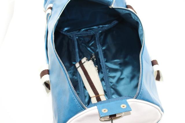 Спортивная сумка Fred Perry. Мужская сумка через плече. Сумка для спорта. Сумка мешок. Кожаная сумка. Код: КСС1 - фото 12