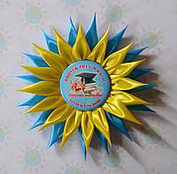 Значок выпускника с розеткой Астра