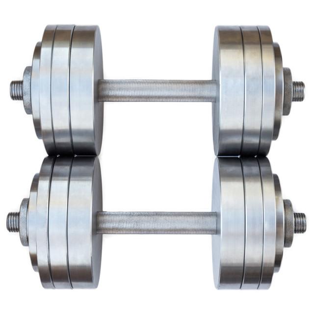 Гантели наборные 2*22 кг (Общий вес 44 кг) Металл - фото 2