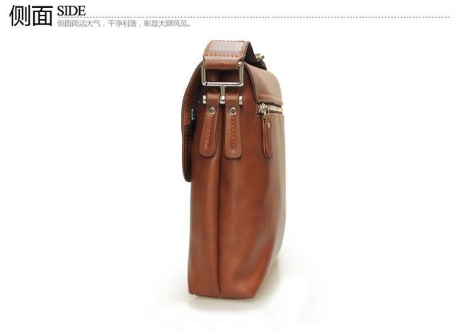 Мужская кожаная сумка POLO. Сумки кожаные. Кожанная cумка. Код: КС2-1 - фото 3