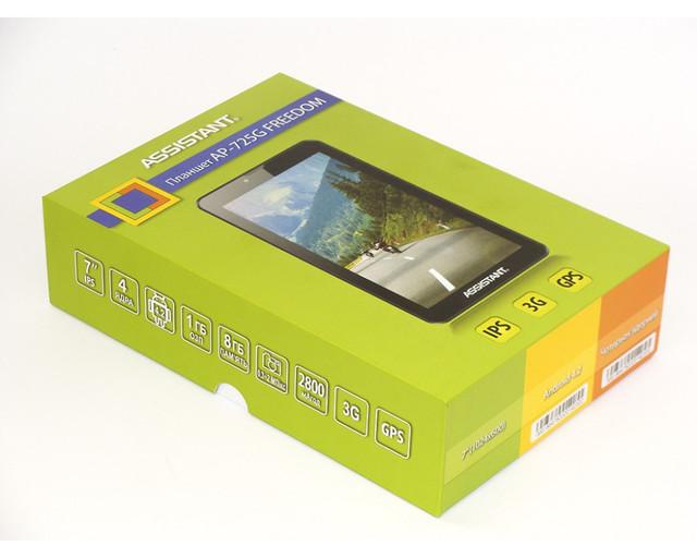"""Четырёхъядерный планшет ASSISTANT AP-725G Freedom. 7"""". 8Гб. Качественный планшет. 1024*600. Код: КТМТ153 - фото 7"""