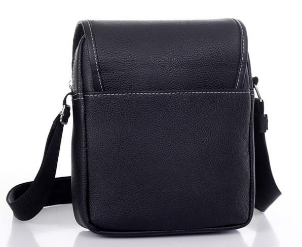Мужская кожаная сумка. Офисный портфель. Недорогая сумка. Качественная сумка. Код: КСД41. - фото 5