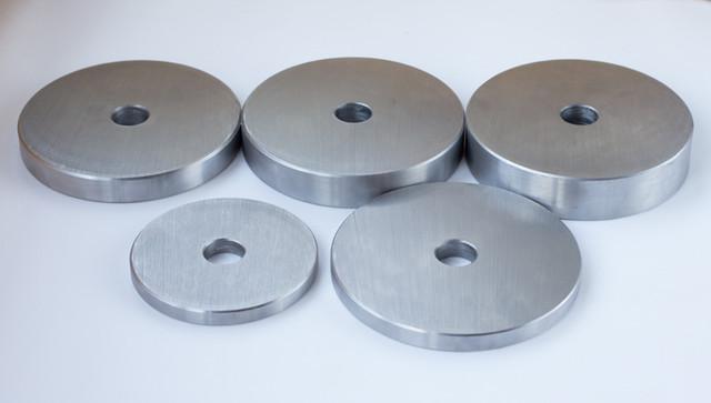 Блин для штанги или гантелей 10 кг металлический (диски утяжелители, млинець металевий) - фото 3