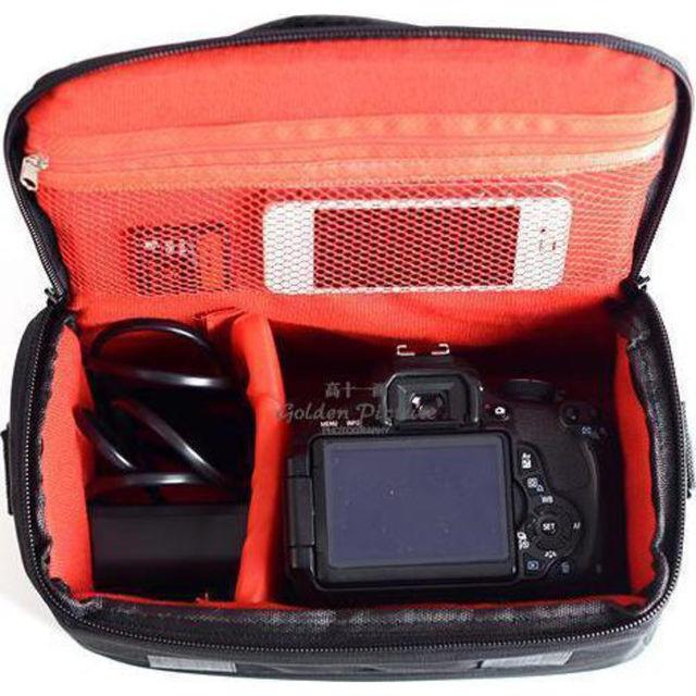 Отличная сумка Canon EOS. Фотосумка Кэнон. Высокое качество. Вместительная сумка. Купить сумку. Код: КДН1079 - фото 5
