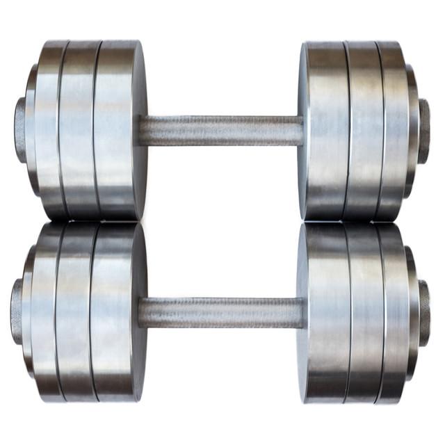 Гантели наборные 2*28 кг (Общий вес 56 кг) Металл (металеві гантелі розбірні наборні разборные для дома) - фото 2