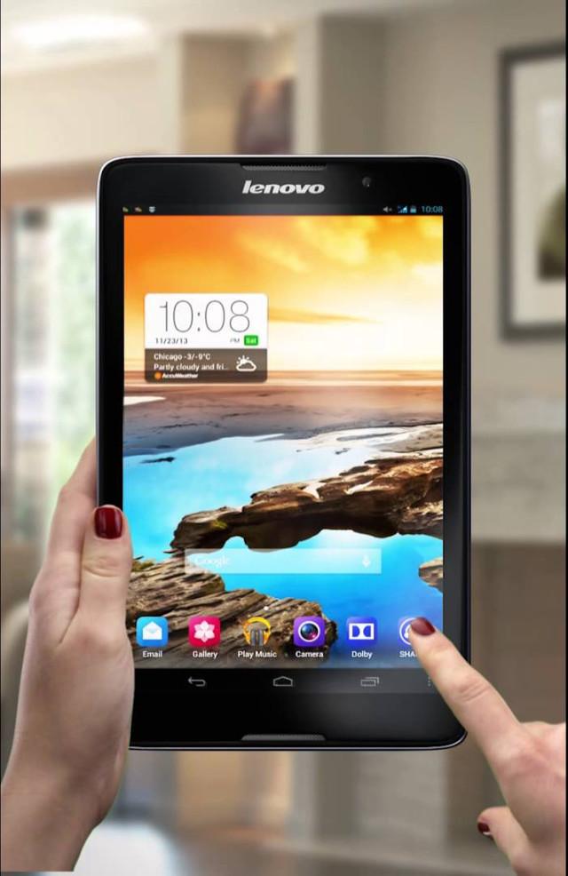 Планшет. Lenovo IdeaTab A5500. 8 дюймов. 4 ядра. Оригинал. На гарантии. Интернет магазин планшетов. Код: КТС38 - фото 3