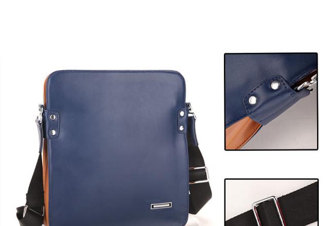 Мужская кожаная сумка. Отличное качество. Сумки из кожи. Кожаная сумка для мужчин. Стиль. Код: КС25-1 - фото 4