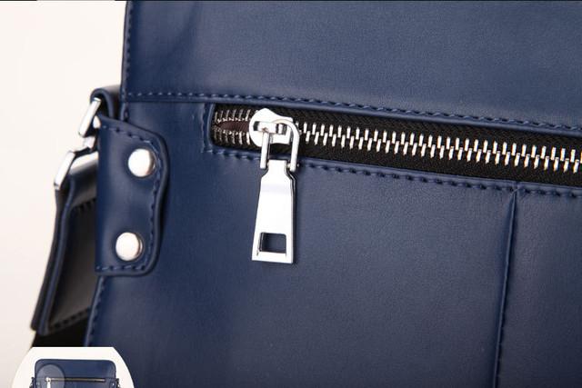 Мужская кожаная сумка. Отличное качество. Сумки из кожи. Кожаная сумка для мужчин. Стиль. Код: КС25-1 - фото 3