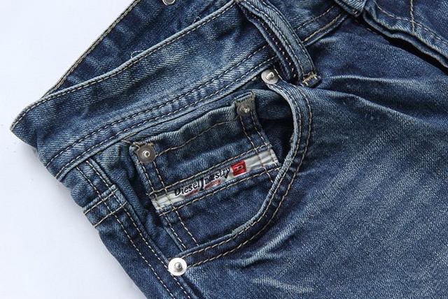 Стильные и модные джинсы Diesel Adidas. Качественные джинсы. Мужские джинсы. Купить в интернете. Код: КДН990 - фото 16