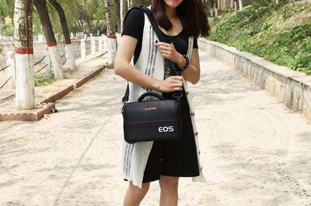 Отличная сумка Canon EOS. Фотосумка Кэнон. Высокое качество. Вместительная сумка. Купить сумку. Код: КДН1079 - фото 12