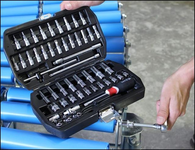 Набор инструмента YATO 56 предметов YT-1450 - фото 3