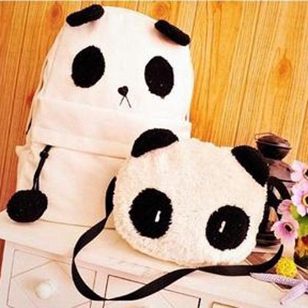 Городской стильный рюкзак. Повседневный  рюкзак. Рюкзак панда. Современные рюкзаки. Код: КРСК45 - фото 2