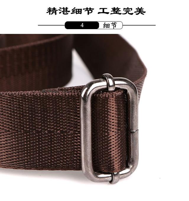 Мужская кожаная сумка. Высокое качество сумки. Удобная стильная сумка. Сумки через плече. Код: КС27-4 - фото 4
