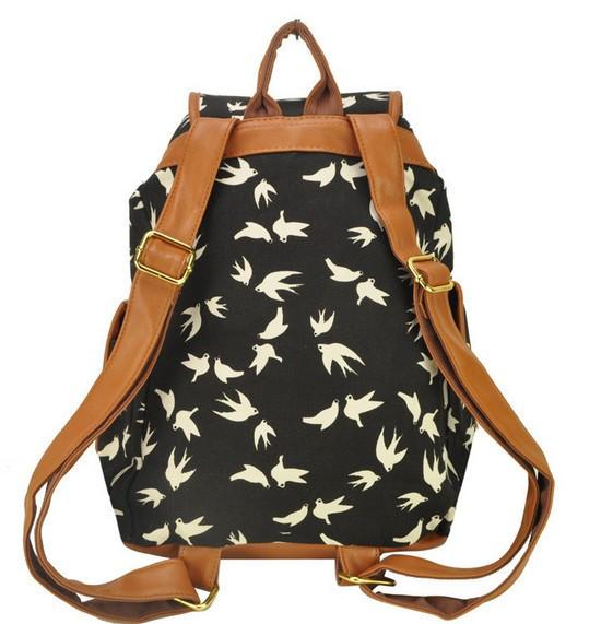 Городской рюкзак. Женский рюкзак. Современные рюкзаки Softback. Рюкзаки с рисунками. Качество. Код: КСР6-1 - фото 5