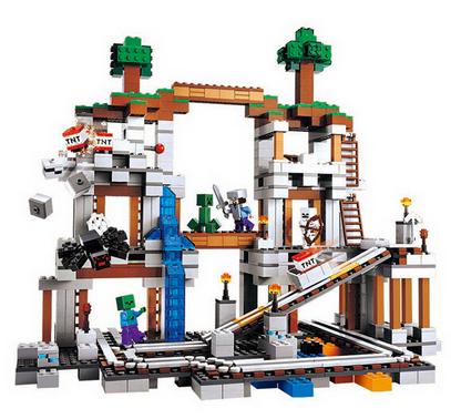 Самый большой Конструктор Майнкрафт Minecraft 79074, 922 дет. - фото 2