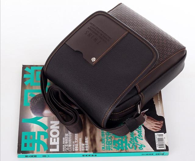 Мужская кожаная сумка. Офисный портфель. Недорогая сумка. Качественная сумка. Код: КСД41. - фото 6