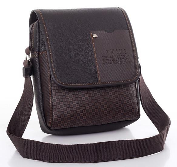 Мужская кожаная сумка. Офисный портфель. Недорогая сумка. Качественная сумка. Код: КСД41. - фото 7