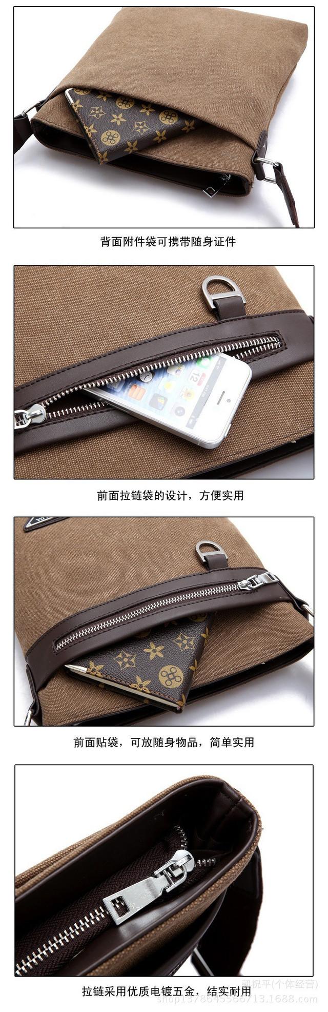 Мужская сумка Prada. Оригинал. Современный дизайн. Новое поступление. Отличное качество. Код: КС52-1 - фото 4