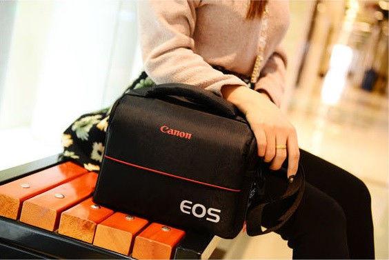 Отличная сумка Canon EOS. Фотосумка Кэнон. Высокое качество. Вместительная сумка. Купить сумку. Код: КДН1079 - фото 8