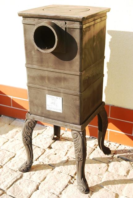 Печь буржуйка чугунная Каспер Met-Spos 6,5 кВт - фото 2