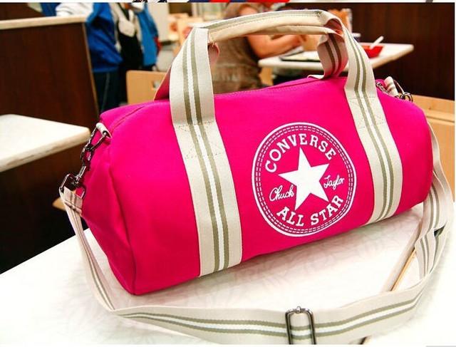 Городская сумка Converse. Спортивная сумка. Дорожная сумка. Мужская сумка. Женская сумка. Холст Код: КСС2 - фото 19