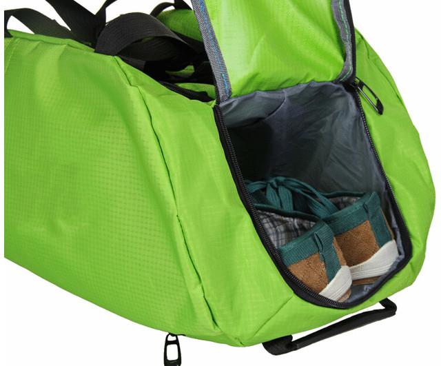 Спортивная сумка Nike. Сумка рюкзак. Качество. Сумки для спорта. Сумки для города. Унисекс. Код: КСС7-2 - фото 11