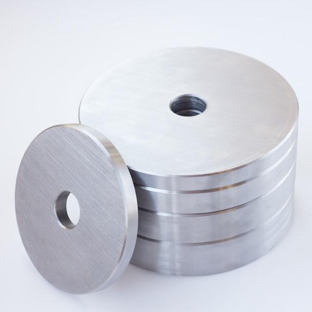 Блин для штанги или гантелей 10 кг металлический (диски утяжелители, млинець металевий) - фото 2