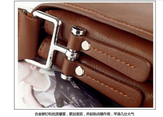 Мужская кожаная сумка POLO. Сумки кожаные. Кожанная cумка. Код: КС2-3 - фото 7