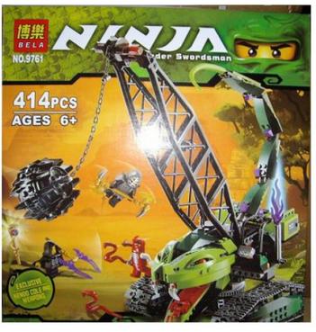Конструктор Ninja 9761 Разрушительная машина 414 дет. - фото 1