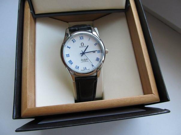 Часы мужские Omega. Магазин мужских часов. Японский механизм. Наручные часы. Кварцевые часы. Код: КЧ9. - фото 2