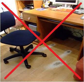 Отличная защита напольного покрытия. Защитный коврик под стул. Хорошее качество. Доступная цена. Код: КДН932 - фото 5