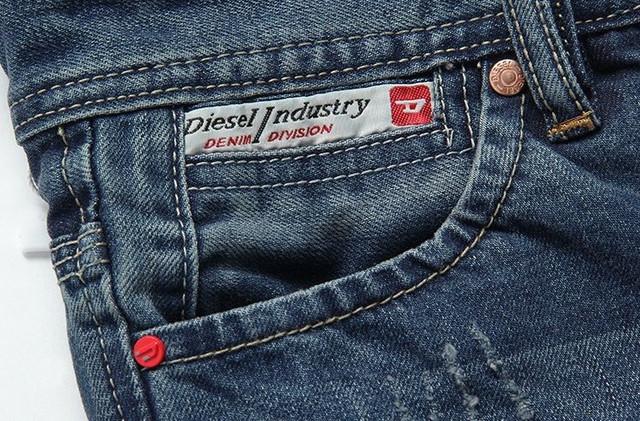 Стильные и модные джинсы Diesel Adidas. Качественные джинсы. Мужские джинсы. Купить в интернете. Код: КДН990 - фото 12