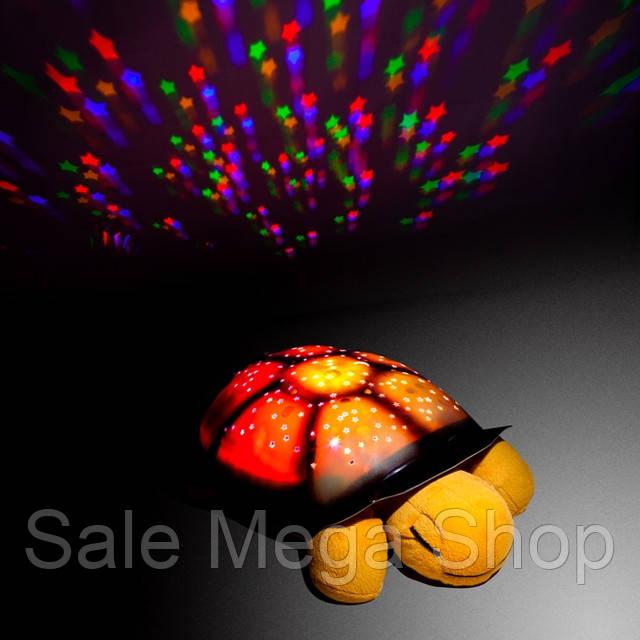 Ночник проектор звездного неба музыкальная Черепаха - фото 1