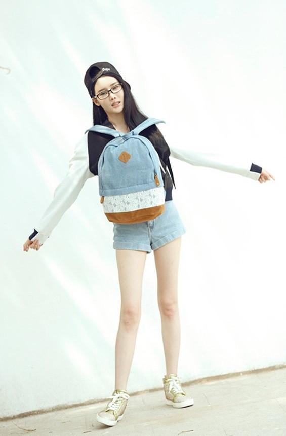 Городской рюкзак. Модный  рюкзак. Рюкзаки женский.  Современные рюкзаки. Код: КРСК32 - фото 12