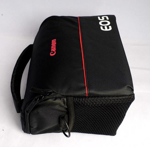 Отличная сумка Canon EOS. Фотосумка Кэнон. Высокое качество. Вместительная сумка. Купить сумку. Код: КДН1079 - фото 7