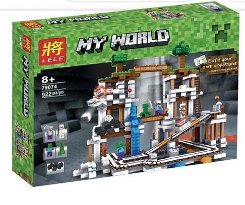 Самый большой Конструктор Майнкрафт Minecraft 79074, 922 дет. - фото 3