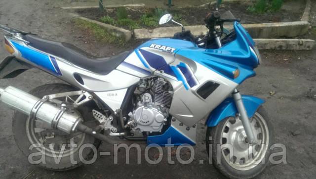 Двигатель в сборе мотоцикл Minsk-Viper СВ 200сс - фото 1