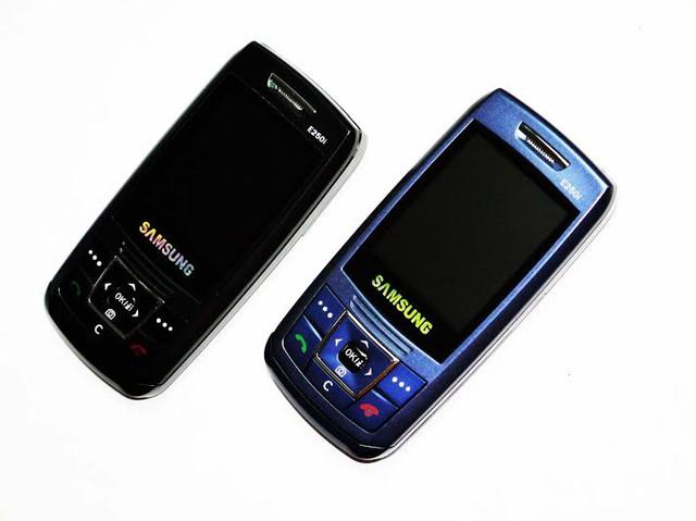 Недорогой мобильный телефон Samsung E250i. Дешевый слайдер. Качественный мобильный телефон. Код: КТМ215 - фото 2