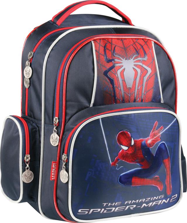 Рюкзак школьный, ортопедический Spider-Man Movie-2 KITE SM15-514S - фото 1