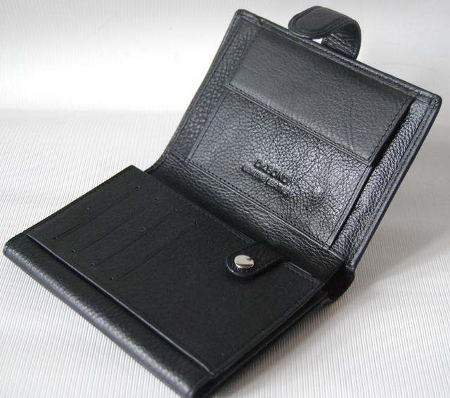 Мужской кожаный кошелек,  портмоне, бумажник. Кошелек на подарок. НАТУРАЛЬНАЯ КОЖА! Код: КСЕ112 - фото 6