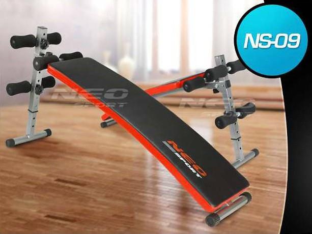 Скамья многофункциональная Neo-Sport NS-09 для пресса - фото 1