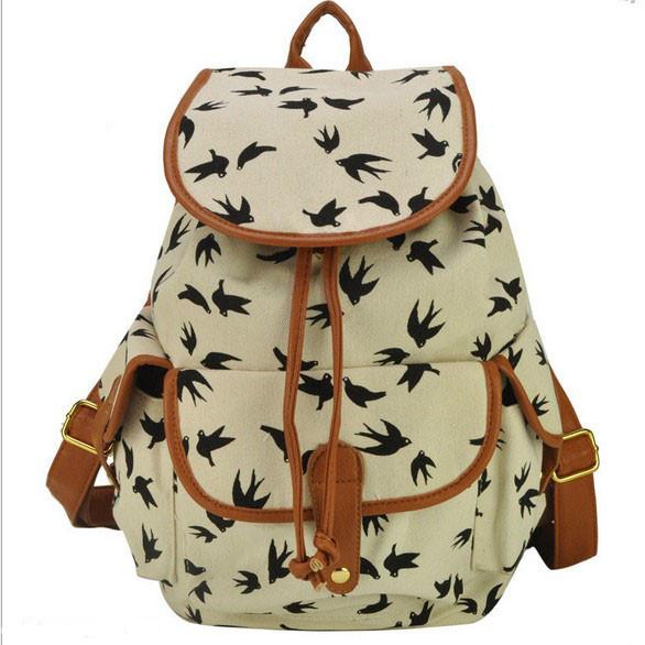 Городской рюкзак. Женский рюкзак. Современные рюкзаки Softback. Рюкзаки с рисунками. Качество. Код: КСР6-1 - фото 1